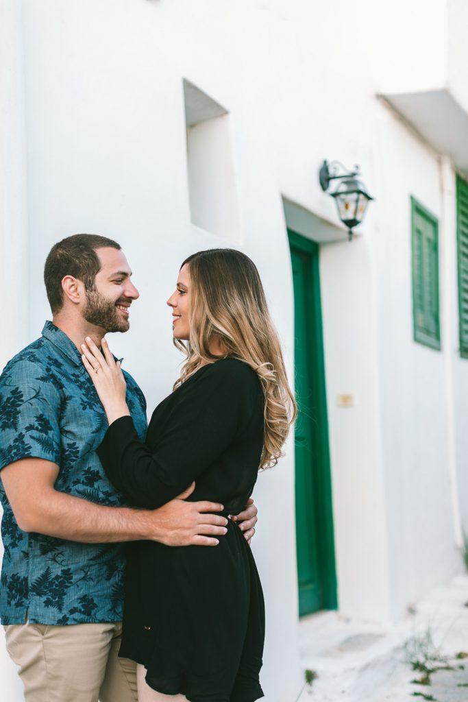 pre-wedding photo session Amorgos
