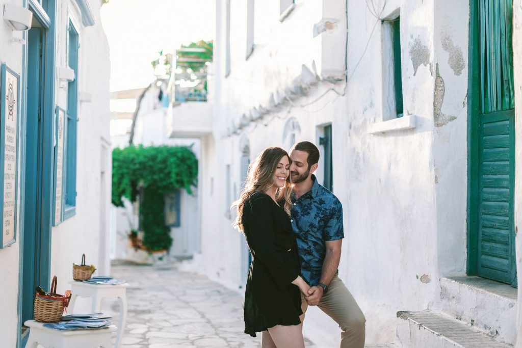 pre-wedding photo session Amorgos