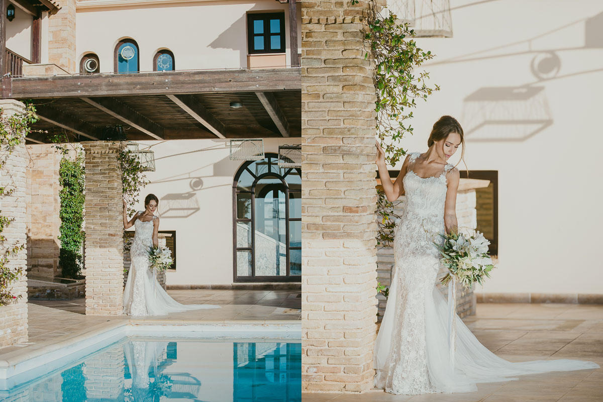 Wedding photo shooting in Athens