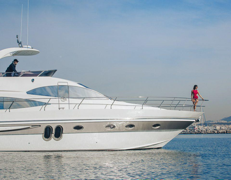 Yacht photography in Athens, Greece