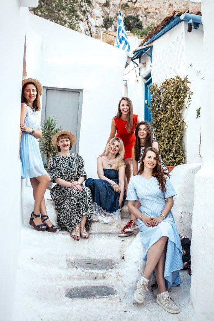 Bachelorette party in Greece