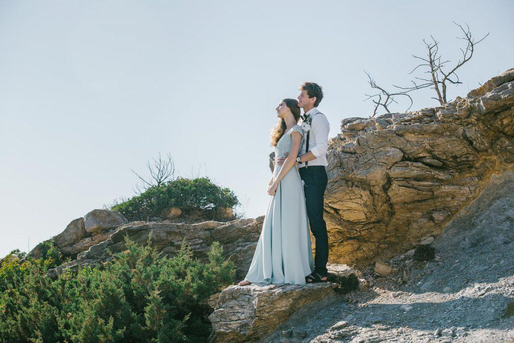 Honeymoon photo session in Athens