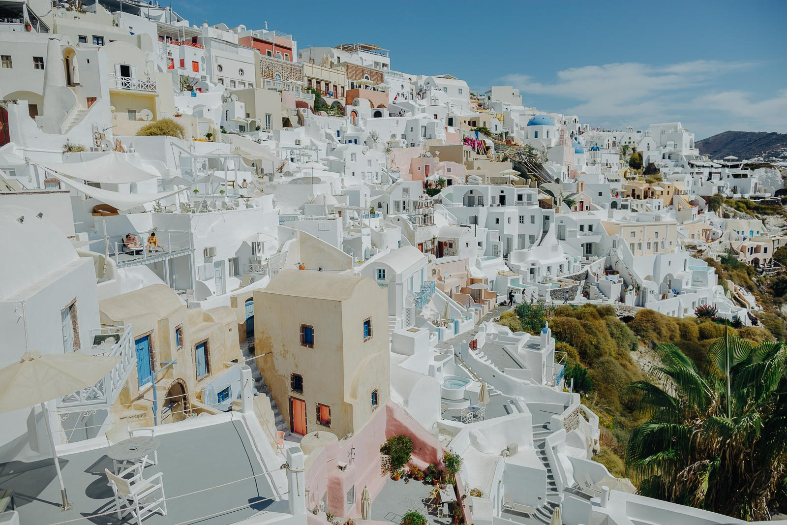 The most beautiful places in Santorini