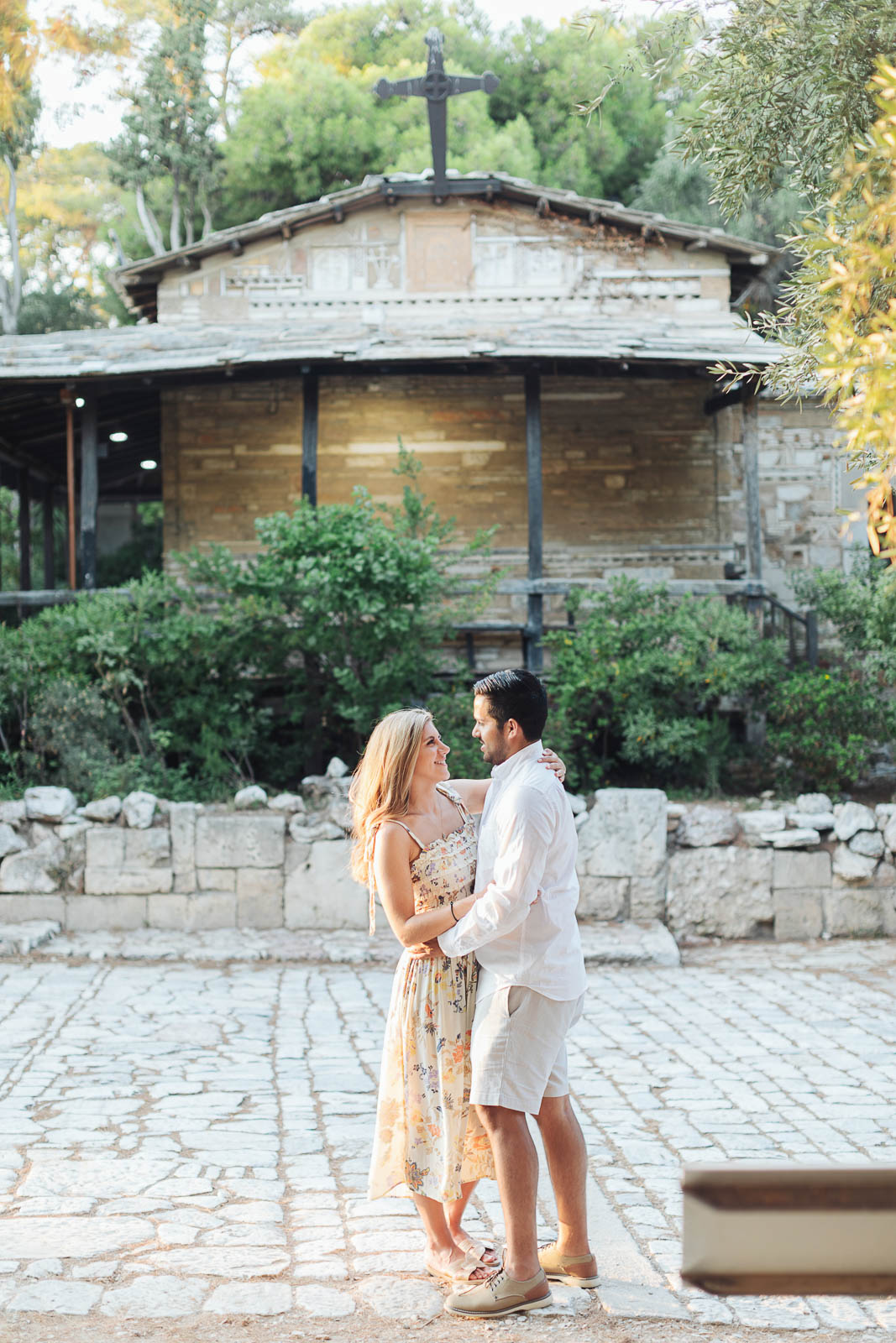 Marriage proposal photo session in Athens