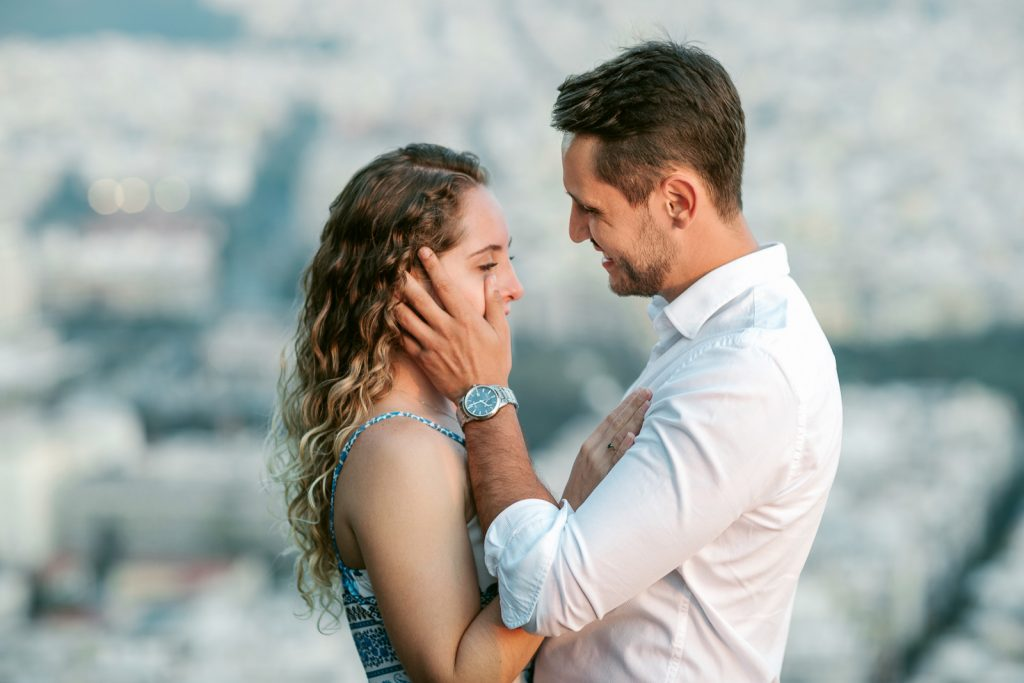 Proposal photo session in Athens
